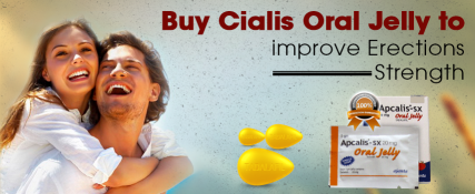 Buy cialis oral jelly to improve erections strength